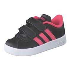 adidas VL Court 2.0 CMF I Sneaker Mädchen schwarz
