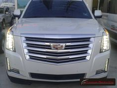 Cadillac Escalade Platinum 2016 color Blanco / 2016 Cadillac Escalade Platinum White