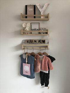accessoires babykamer, kruidenrekjes ikea