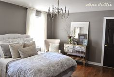 Dear Lillie: Our Gray Guest Bedroom and a Full Source List