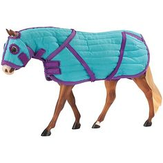 Quilted Blanket  Hood Set by Breyer Horses - List price: $12.06 Price: $10.01 Saving: $2.05 (17%)