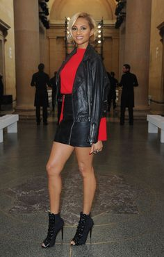 More Pics of Alesha Dixon Mini Skirt (3 of 3) - Mini Skirt Lookbook - StyleBistro