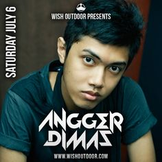 oloo dede :* ...LOL...Angger Dimas @ WiSH Outdoor 2013