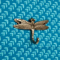 I've just found Frederico Single Metal Hook Dragon Fly Design Hook. This single brass wall hook with a dragonfly design is perfect for anyone looking to add some extra organitaion to their home!. £9.50 Door Hooks, Wall Hooks, Bathroom Hooks, Towel Hanger, Wall Hanger, Metal Coat Hangers, Metal Walls, Dragon, Belly Button Rings