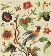 jacobean embroidery - Google Search