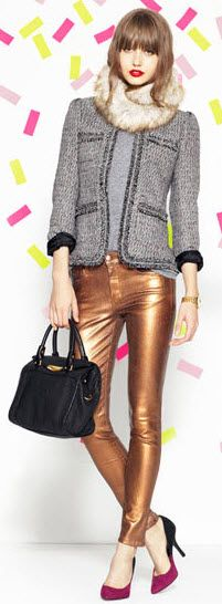 Love these pants! Go for Holiday GOLD! | Piperlime.gap.com