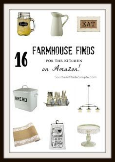 16 Farmhouse Decor Finds for the Kitchen