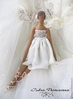 Куклы Тильды ручной работы. Ярмарка Мастеров - ручная работа Тильда - балерина. Handmade.