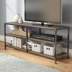 online shopping for Forteau TV Stand TVs 70 Laurel Foundry Modern Farmhouse from top store. See new offer for Forteau TV Stand TVs 70 Laurel Foundry Modern Farmhouse Farmhouse Tv Stand, Modern Farmhouse, Farmhouse Style, Tv Stand Set, Tv Stand Decor, Swivel Tv Stand, Solid Wood Tv Stand, Cool Tv Stands, Audio Room