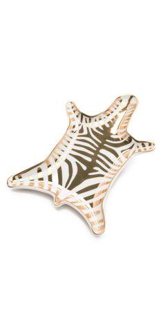 Jonathan Adler Metallic Zebra Dish | SHOPBOP