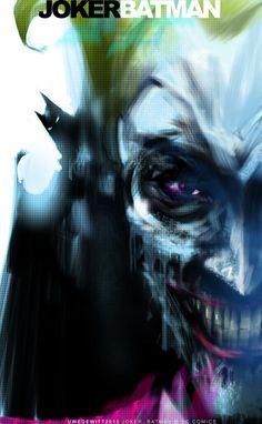 #joker #dccomics #comics #fumetti #purple #art #batman