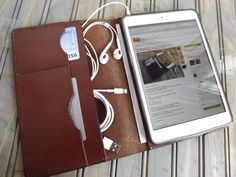 The Handmade Customizable Leather iPad Mini Case