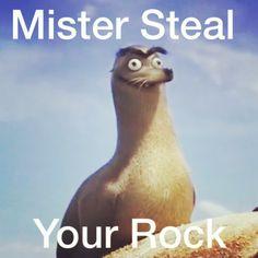 OMG I love Gerald 〖 Disney Pixar Finding Dory Gerald Sea lion rock funny 〗 Disney Love, Disney Magic, Disney And Dreamworks, Disney Pixar, Walt Disney World, Rock, Steven Universe, Disneyland, Funny Memes