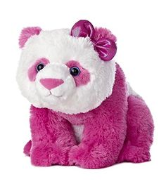 "Aurora World Girlz Nation Pink Panda Plush, 11"" Aurora World http://www.amazon.com/dp/B00BU9OU42/ref=cm_sw_r_pi_dp_YOfovb1CYTX19"