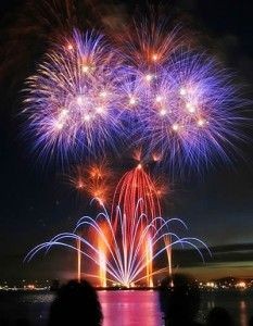 Ready to Celebrate? Fireworks on the beach!