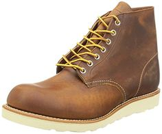 7fbc5997576 Red Wing Mens Round Toe Copper Chukka Boot - 4 D Red Wing Shoes http