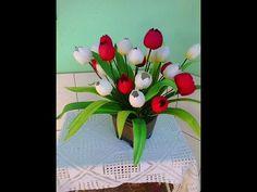 Aula 02 - Tulipa em EVA - YouTube