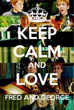 My Weasley Twins!!! ❤️❤️ I can't keep calm!!
