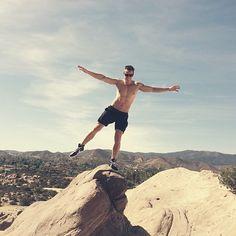 Does this make your palms sweat? Hiked #vasquezrocks #california - officialdaveywavey's photo on Instagram - Pixsta