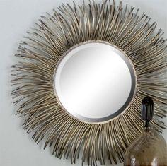 Oglindă, oglinjoară, care e cea mai frumoasă casă din țară? Oglinda Akisha îmbunătățește aspectul casei. Mirrors, Sweet Home, Creations, Metal, Furniture, Design, Home Decor, Carp, Decoration Home