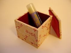 Tiny Dragonfly Box with Lid by oleiah on Etsy, $6.00