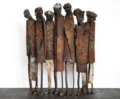 Metal sculptures | by Johan P. Jonsson  http://byjohan.se/metal-sculptures.html