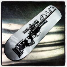 dylan egon 'northern sparrows' 2014 skateboard deck