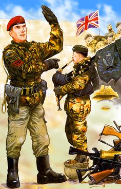 British Royal Corps of Military Police. Falklands War