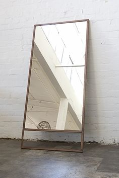 Standing Mirror via Alain de Bruijn
