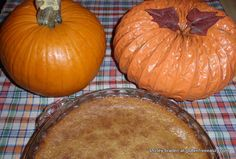 Crustless, Gluten-Free Pumpkin Pie from Gluten-Free Easily