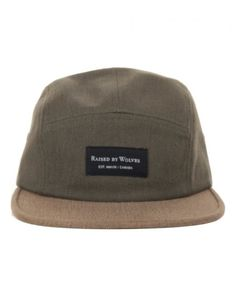 c7c497a6bec4 Buy Bull Denim 5 Panel - Earth Jalapeno by Raised by Wolves from our  Accessories range - Greens