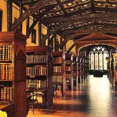 """Hogwarts' Library (Duke Humphrey's Library, Oxford University). 
