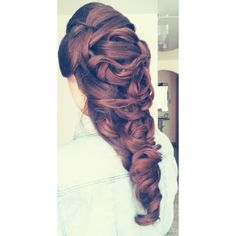 My updo:)♥I loved it♥
