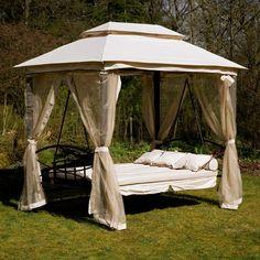 Outdoor Gazebo Swing Bed W