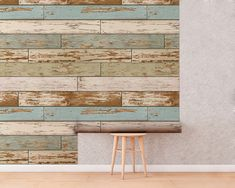 Old Salem, Reclaimed, Wallpaper, Wood, Self-Adhesive, Removable Wallpaper, Wall Mural, Temporary Wallpaper, Repositionable Wallpaper Temporary Wallpaper, Wood Wallpaper, Vintage Wood, Wall Murals, Decor Styles, Adhesive, New Homes, Wallpapers, House