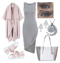 """perfect outfit😊"" by kaja-232 ❤ liked on Polyvore featuring adidas, GUESS, Edge of Ember, outfit, for, day and every"