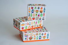 イラストレーター飯田淳氏のデザインパッケージ #package #box