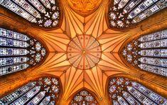 Beautiful church ceiling. Photo by Nick Garrod, Flickr