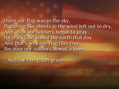 Poem in regards to 9/11