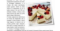 ricetta dell new york chees cake postata sul gruppo di classe