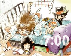 Katekyo Hitman Reborn -- Looks like me in the morning.