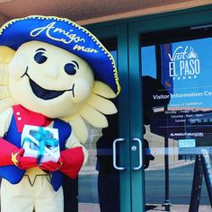 Today I went on an adventure and delivered gifts to my friends at El Paso Times El Paso Inc. El Diario De El Paso Univision KTSM El Paso Proud KVIA ABC-7 KFOX-TV KDBC-TV and the El Paso Herald-Post! Stay tuned to hear about something NEW happening at Visit El Paso #ItsAllGoodEP