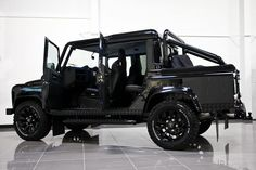 Land Rover Defender 110 Urban DC with front and rear rollover bars . Too nice.