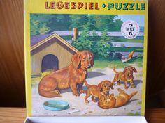 Puzzle Legespiel