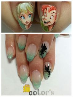 Nderella french re pin nail exchange pinterest character nail artanyone else see that there are only nine fingers or is it just me prinsesfo Images