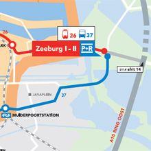 P+R-Zeeburg-Amsterdam