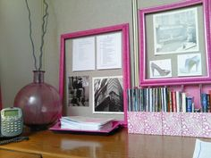 """I'm super excited to share a Desk Makeover with you all today. Here's the thing, I am ALWAYS telling people who don't actually have an """"office"""" that you can still … Read Cute Cubicle, Work Cubicle, Cubicle Makeover, Office Makeover, Office Cube, Corner Office, Cubical Ideas, Cube Decor, Ideas Hogar"""