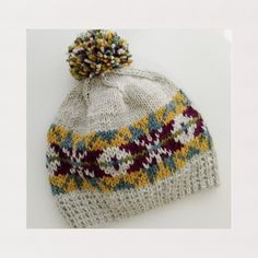 Ravelry: Gorro revival III pattern by ana conde