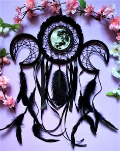 Excited to share the latest addition to my #etsy shop: Dreamcatcher Triple Moon #moondreamcatcher #wicca #triplemoon https://etsy.me/2rej0iJ