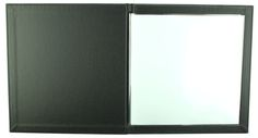 Carbon Rod | Square A4 - Black G-Line - Black Buckram - Sleeves